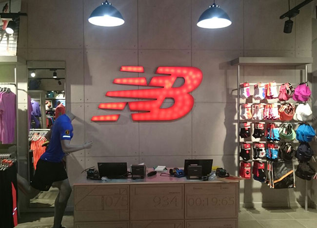 New Balance Store Front
